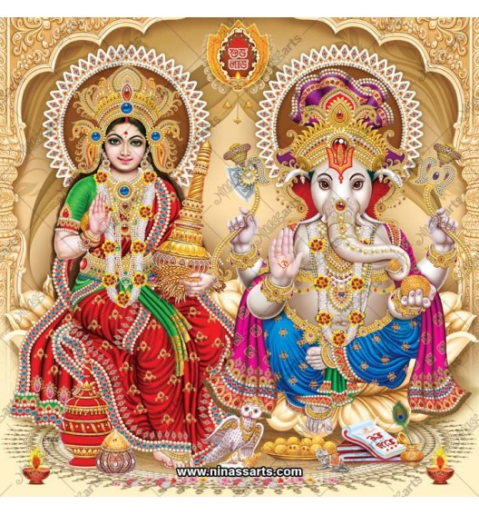 3072 Laxmi Ganesh Bengali
