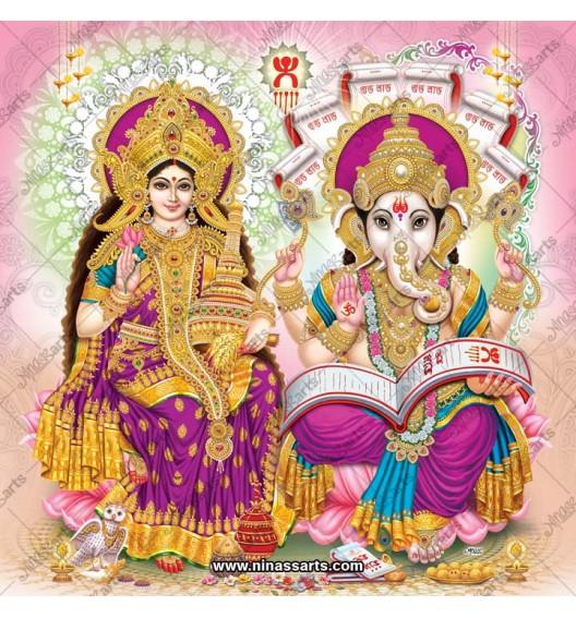 3076 Laxmi Ganesh Bengali