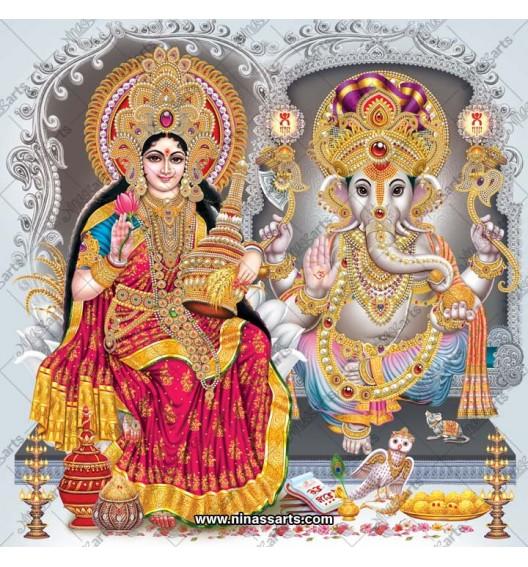 3078 Laxmi Ganesh Bengali