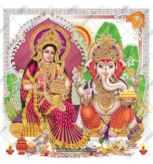 3079 Laxmi Ganesh Bengali
