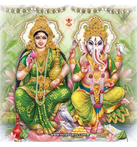 3080 Laxmi Ganesh Bengali