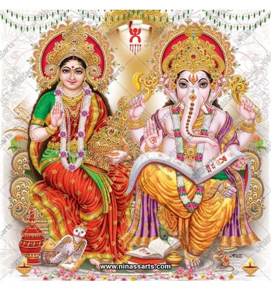 3086 Laxmi Ganesh Bengali