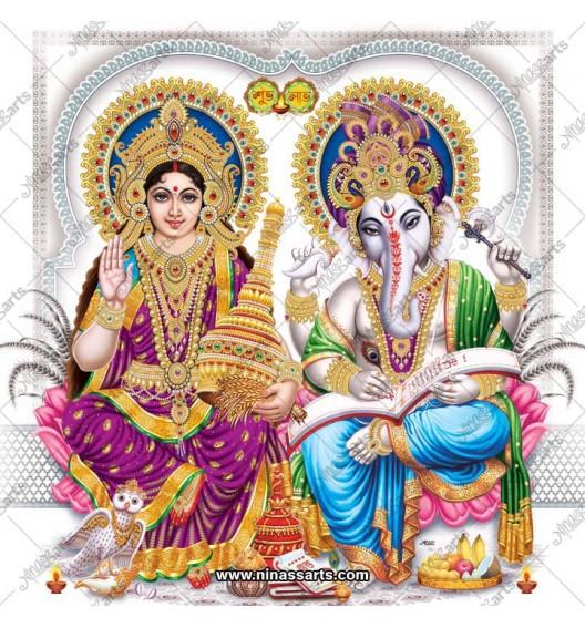 3087 Laxmi Ganesh Bengali