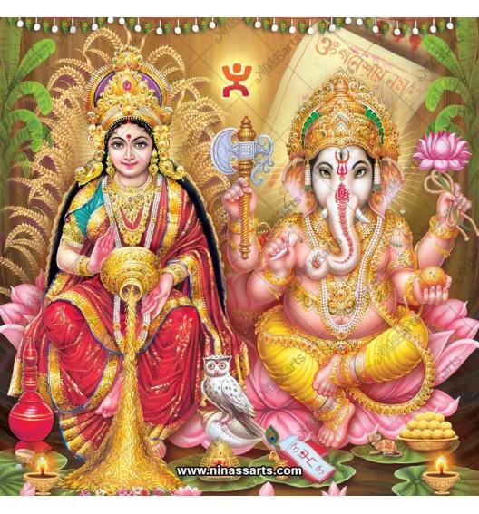 3088 Laxmi Ganesh Bengali