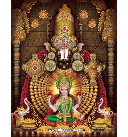 10001 Tirupati Balaji