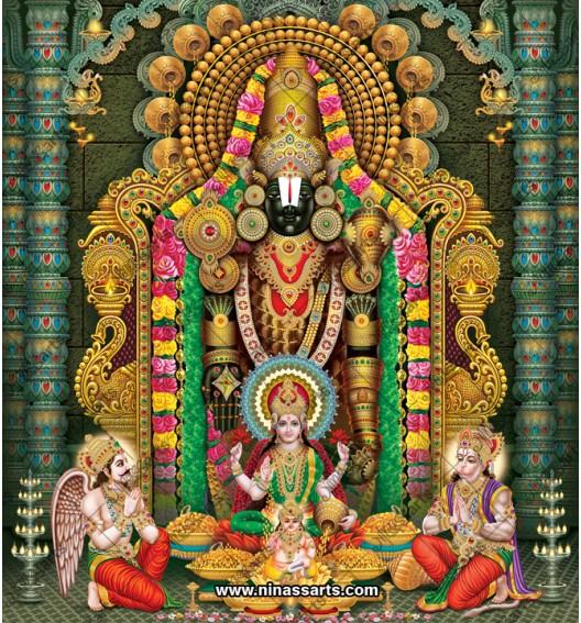 Lord Tirupati Balaji in...