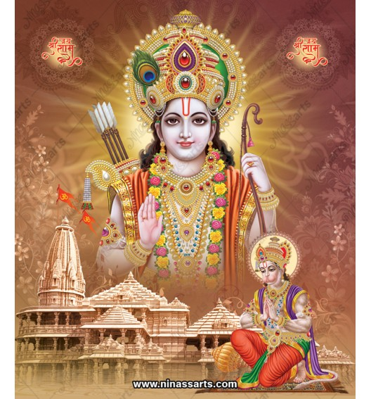 17002 Ram with Hanuman