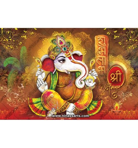 71010 Ganesh Poster