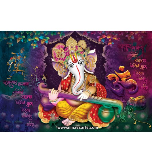 71002 Ganesh Poster