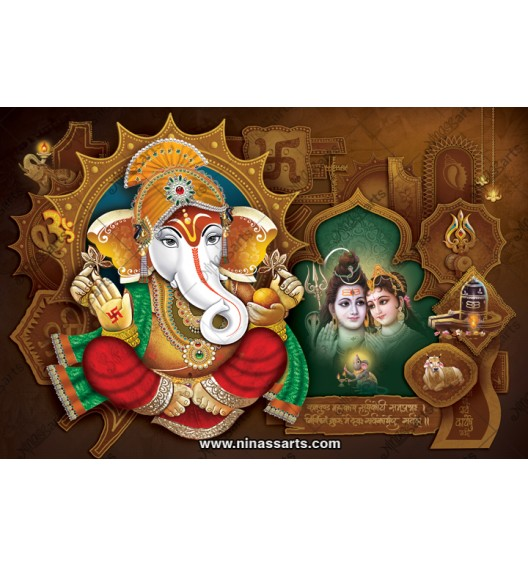 71003 Ganesh Poster