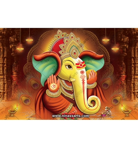 71004 Ganesh Poster