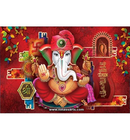 71006 Ganesh Poster