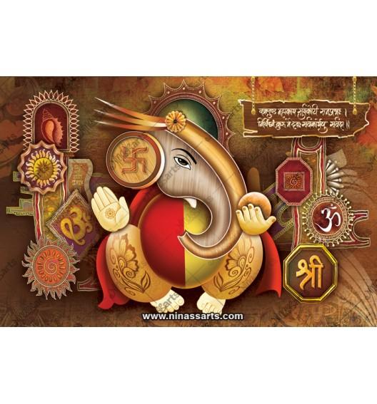 71007 Ganesh Poster