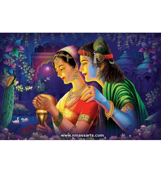 70014 Radhakrishna Poster