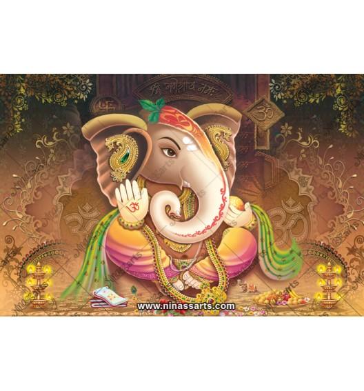 71009 Ganesh Poster