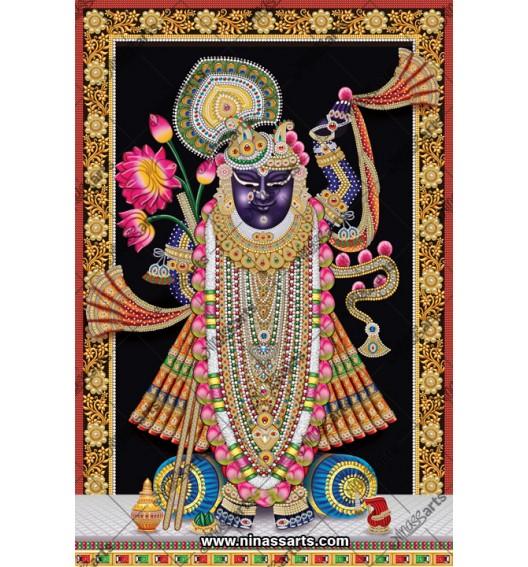 72003 Shreenath ji Poster