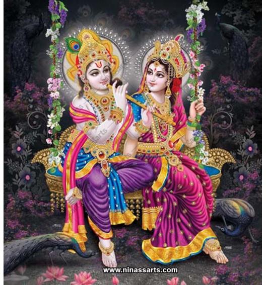 Frame art of Hindu god Sri...