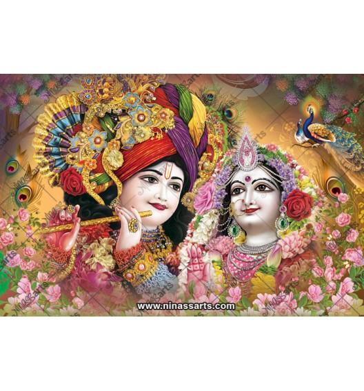 70018 Radhakrishna Poster