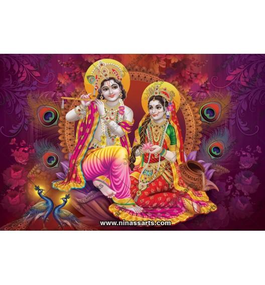 70021 Radhakrishna Poster