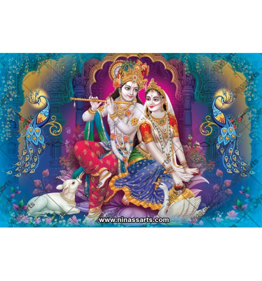 70027 Radhakrishna Poster