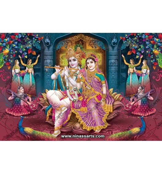 70030 Radhakrishna Poster