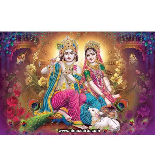 70031 Radhakrishna Poster
