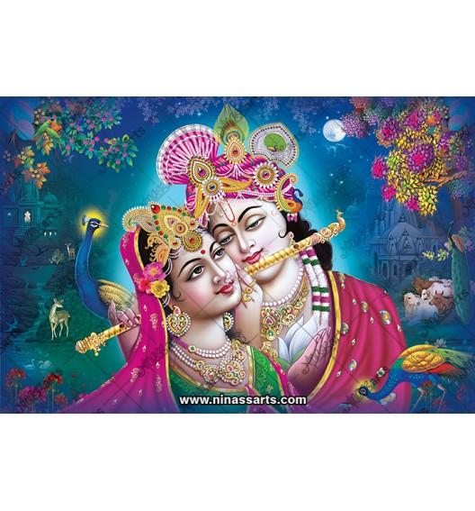 70032 Radhakrishna Poster