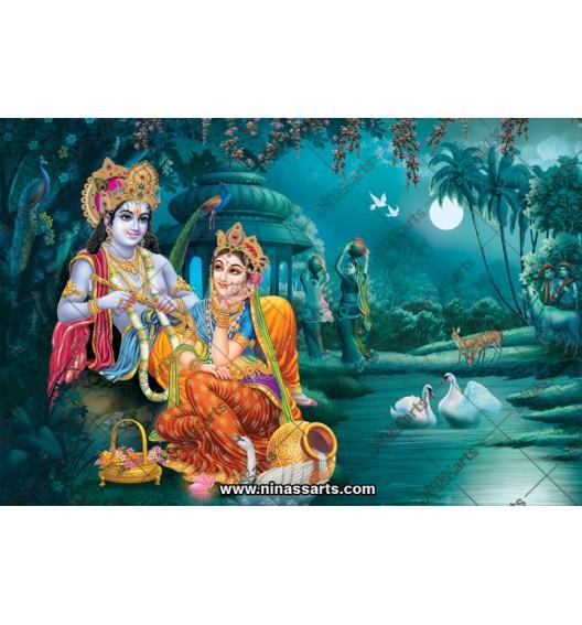 70034 Radhakrishna Poster