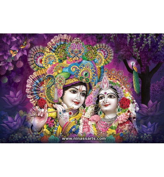 70035 Radhakrishna Poster