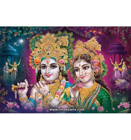 70037 Radhakrishna Poster