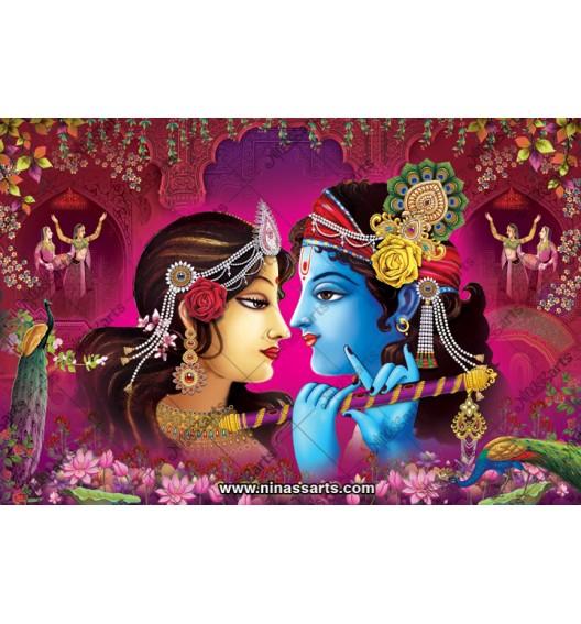 70039 Radhakrishna Poster