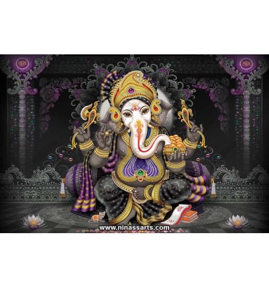 71016 Ganesha Poster
