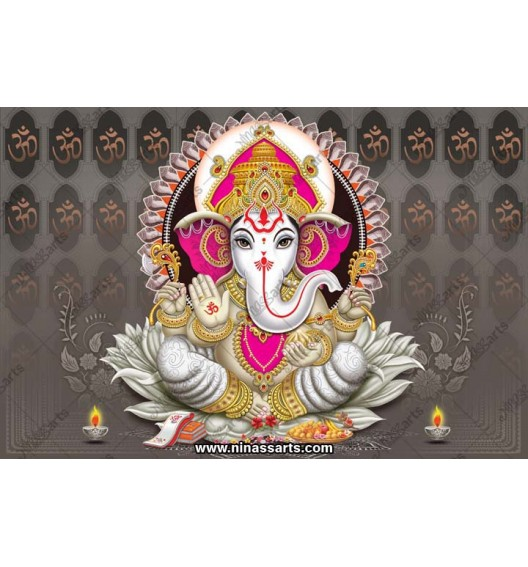 71018 Ganesha Poster