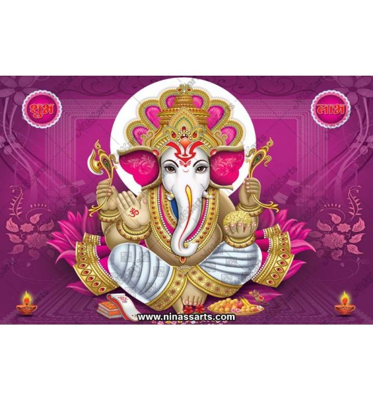 71019 Ganesha Poster