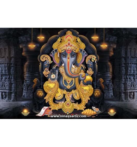 71020 Ganesha Poster