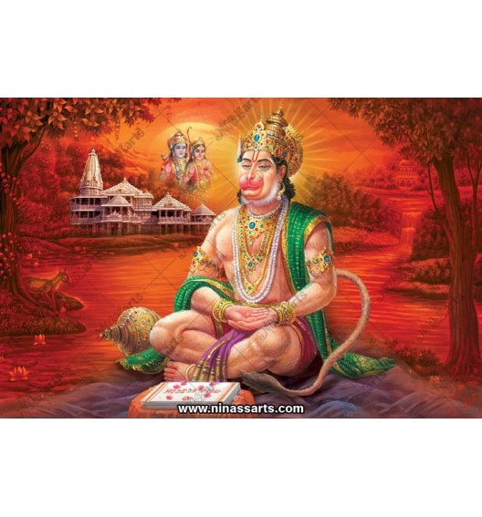 Lord Hanuman Poster 72035