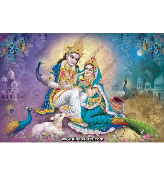 70056 Radhakrishna Poster
