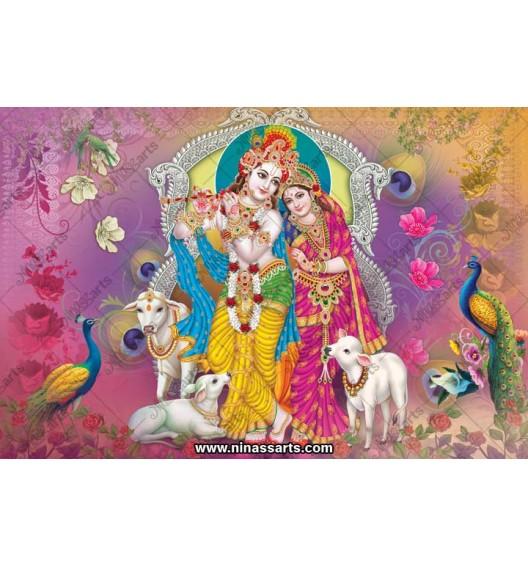 70052 Radhakrishna Poster