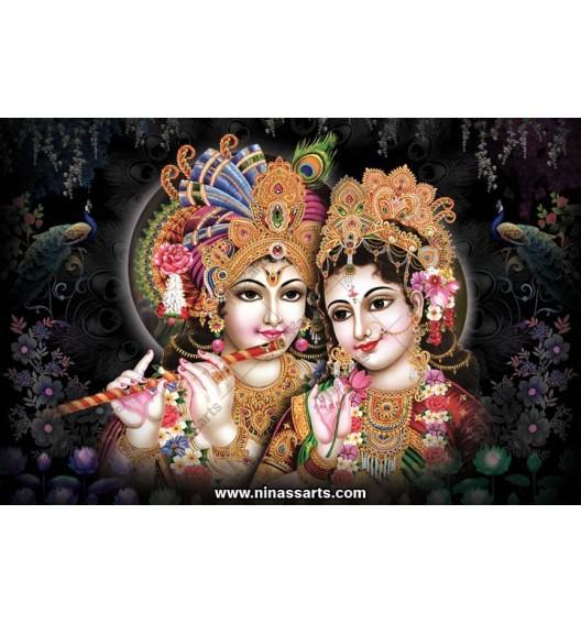 Radha Krishna Poster 70053