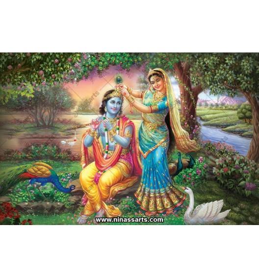 70054 Radhakrishna Poster