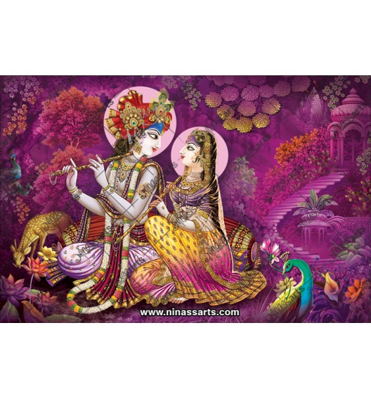 Radha Krishna Poster 70044