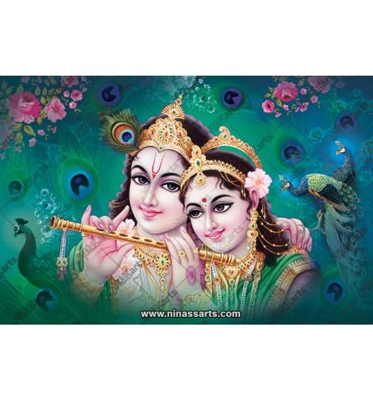70045 Radhakrishna Poster